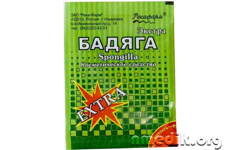 Изображение - Порошок в пакетиках для лечения ушибов суставов badiaga-v-meditcine