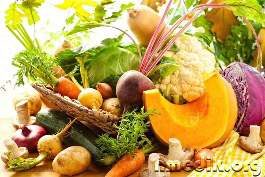 Овощи для вегетарианской диеты