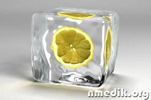 Косметический лед для ухода за кожей