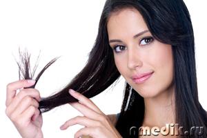 Маска для волос посеченных волос