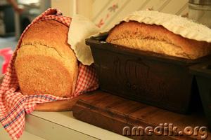 Как стряпать хлеб в домашних условиях