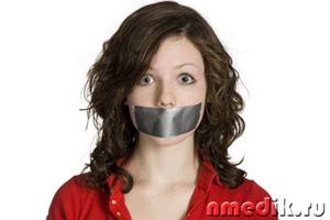 жуткий запах изо рта явный признак заражения