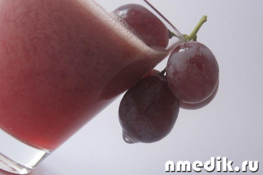Как влияет виноград на почки